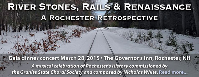 40th Anniversary Gala - River Stones, Rails and Renaissance