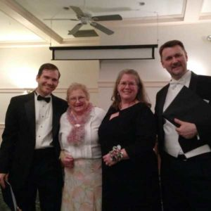 Dan Roihl, Sylvia Dowst, Nicholas White, GSCS 40th Gala